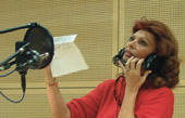 Sophia Loren records with the RNO